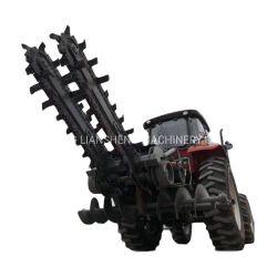 2 m de profundidade de amaragem Valetadeira cadeia pesada máquina de escavação para Tratores de Rodas