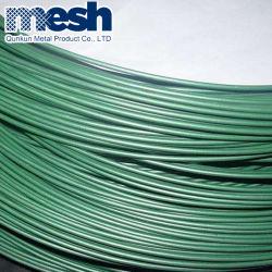 チェーンリンクフェンスに使用される PVC コーティング鉄ワイヤ