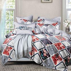 Décoration maison Patchwork literie draps de coton d'été réversible Set Home Bedding Set