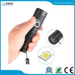 Xhp 50 LED linterna recargable18650 USB Luz Trasera Magnéticos Vs xm-L T6 Linterna Antorcha