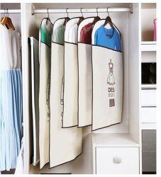 PVCポケットが付いているNon-Woven多機能のFoldable荷物の衣装袋