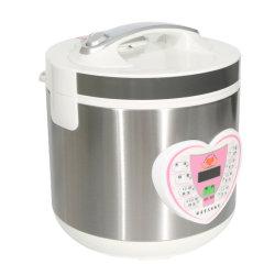 Electric Slow Cooker pot de la cuisine Cuiseur vapeur sous vide cuire le riz Saute minuteur numérique Affichage acier inoxydable