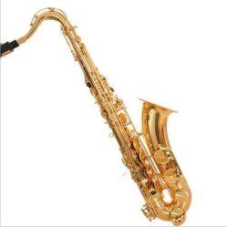 B 편평한 금 래커 고전적인 방침 색소폰