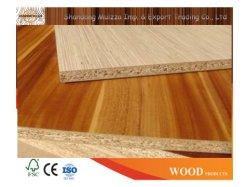 El papel de melamina 4X8 de madera laminada resistente al agua verde del panel de aglomerado de partículas de martillos para estantes de cocina