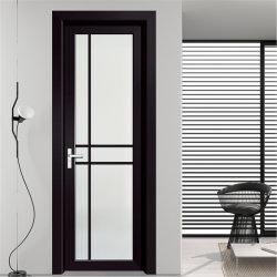 [هيغقوليتي] تصميم كلاسيكيّة [هيغ-ند] صنع وفقا لطلب الزّبون نماذج ألومنيوم مزدوجة يقسم زجاجيّة مرحاض يدار أبواب