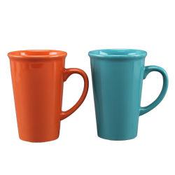 لون ضخمة ينقش يزجّج عادة علامة تجاريّة منتج حجريّ شام أباريق أسود قهوة [متّ] فنجان خزفيّة