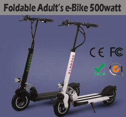 2018 La fibra de carbono Gas Kick Scooter eléctrico plegable para adultos