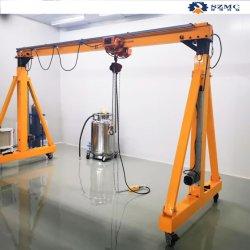 Facile à la construction de petite taille-de-chaussée palan à chaîne Portail Gantry Crane