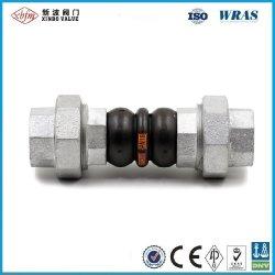 L'expansion flexible en caoutchouc EPDM raccord de tuyauterie en acier galvanisé