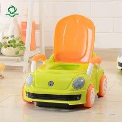 사소한 Closestool 시트 의자를 훈련하는 판지 차 유형 아이 또는 아기 또는 아이 또는 아이들 또는 소녀 소년 화장실