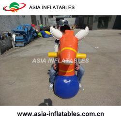 Salto de potro de hinchables de aire de las carreras de caballos de sellado