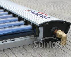 Suntask 123 Новая конструкция солнечного отопления горячей воды коллектор