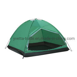 Outdoor Camping tente avec 2personnes Sizeand Tissu en polyester 190T Yv-5101