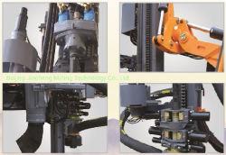 Desempenho estável Kt12 montado no trator de esteiras Perfuraçaäo com Compressor de Ar