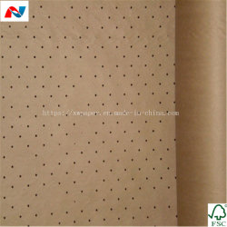 Brown Sous-couche de papier Kraft perforé pour Garment Factory salle de découpe