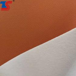 جلد مصنوع من الجلد المحبب من القطن المحبب بسمك 0.8 مم بدون مذيب