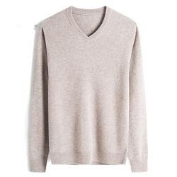 Pullover mérinos de haute qualité Mens Pull
