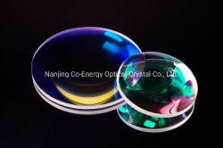 Bk7 Lentille sphérique lentille en verre optique lentilles optiques de stock