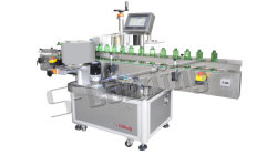 A fábrica de baixo preço de venda toda máquina de rotulação Flat Square redondos/Adesivo Rotulagem