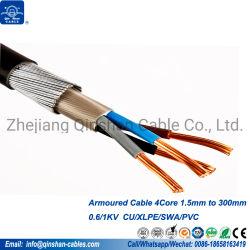 4core 1.5mm 2.5mm 4.0mm 6.0mm 10mm 16mm 25mm Gepantserde Kabel