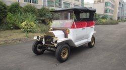 De witte Kar van het Golf van het Hotel Elegante 4 Persoon Gebruikte met AC afzonderlijk Motor