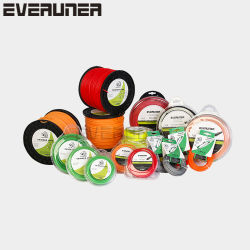 Щетки фрезы Monofilament EVERUNER нейлоновые линии триммер для травяных культур