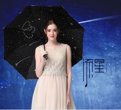 Entwurf anpassen, den das kreative automatische Drucken u. naher Regenschirm sich öffnet