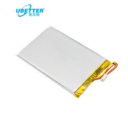 Бис сертифицированных Li полимерные 854350 для перезаряжаемых батарей 3,7 В