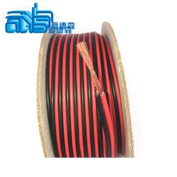 Rouge/Noir de calibre 14 Câble d'Enceinte audio de voiture