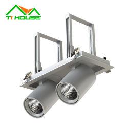 Grelha de alta eficiência luminosa luz LED de sabugo baixar as luzes LED luz de tijolos de grelhados