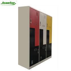 2 pneumatiques coloré L Z casier métallique de forme l'école