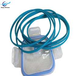 Hochtemperaturbeständiger O-Ring mit Silikon-Dichtung, FDA-Zulassung LFGB Für Lunchboxen
