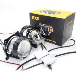 مصباح LED لجهاز عرض المصباح الأمامي للسيارة مصباح عدسة جهاز العرض Bi Xenon