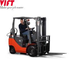 معدات مناولة المواد بنزين مزدوج الوقود غاز البترول المسال 1.5 طن صغير رافعة شوكية مع شاحنة محرك Nissan