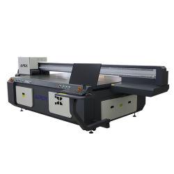 Digital LED de la etiqueta de superficie plana de pequeño formato impresora UV de cama plana