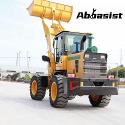 2,000kg 토공 이동 2t 휠 로더 구조 전방 불도저