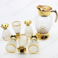 卸し売り贅沢なガラスワインのコーヒーカップおよび鍋セット