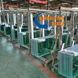 4mm superweißes/ultra freies/Niedrig-Eisen ausgeglichenes Gewächshaus-Glas