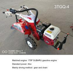 Subaru Ex17のガソリン機関を搭載する多機能フィールド管理耕うん機の農場の使用のカルチィベーター