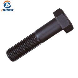 Acciaio al carbonio/bullone pesante ad alta resistenza galvanizzato della testa Hex di DIN933 DIN931 ASTM A325 A490 B7 B8