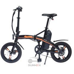 16-дюймовый складная грязь велосипеды для взрослых используются электрические велосипеды Ebike фальцовки