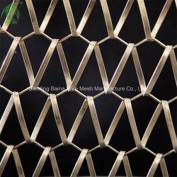 Спиральная декоративная сетка декоративный занавес декоративная металлическая сетка экрана