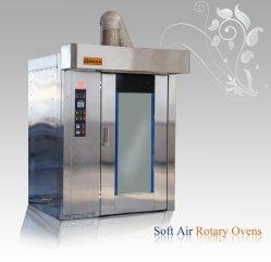 O Óleo diesel Gás comercial Pão Carrinho rotativo de cozedura no forno de túnel de rack para máquina de padaria