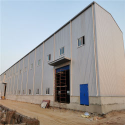現代モジュラープレハブの住宅建設の金属の門脈の構築のプレハブの倉庫構造軽いフレームの鉄骨構造