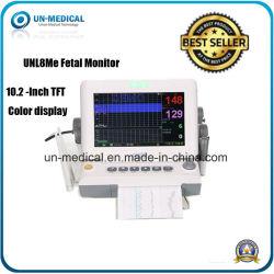 Rythme cardiaque foetal sans fil d'approvisionnement médical détecteur moniteur maternelle