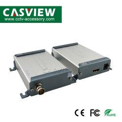 BNCのコンバーター力5V-12VへのTNCのRg59 RG60による同軸ケーブルサポート1080P損失より少なく遅れない200m伝達上のHDMIエクステンダー200-300m