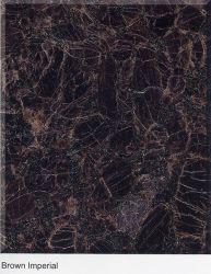 Color marrón Imperial losa de granito pulido/Mosaico/Escaleras/lavabos