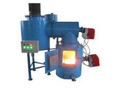 Tratamento de Resíduos Sólidos do médico infecciosas Queimador de incineração, Óleo Diesel e Gás Natural adequado de combustível