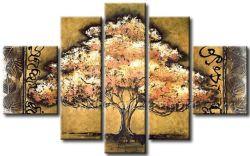 Pelicate Bom Preço Folhas de Ouro da paisagem pintura a óleo Wall Art