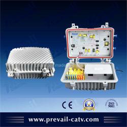 Campo bidireccional CATV amplificador de troncos